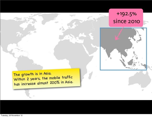 +192.5%                                                  since 2010             The growth is in Asia.             Within ...