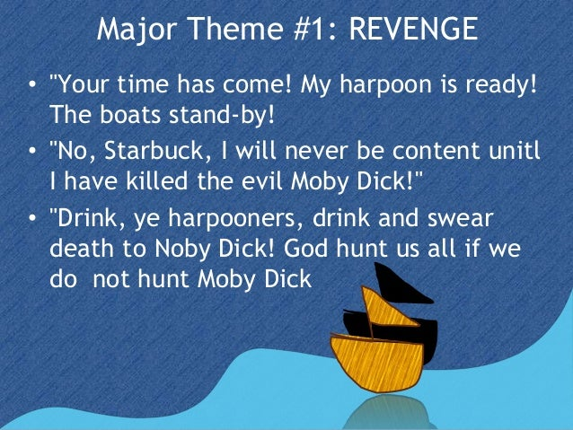 the theme of moby dick