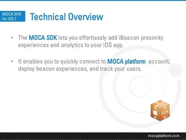 MOCA iBeacons SDK for iOS 7