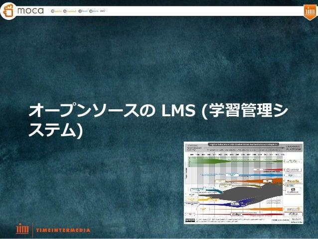 オープンソースの LMS (学習管理理シ ステム)