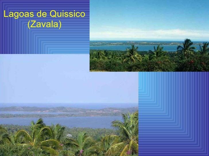 Lagoas de Quissico (Zavala)