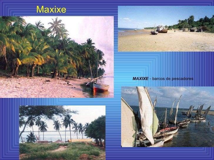 Maxixe MAXIXE  - barcos de pescadores