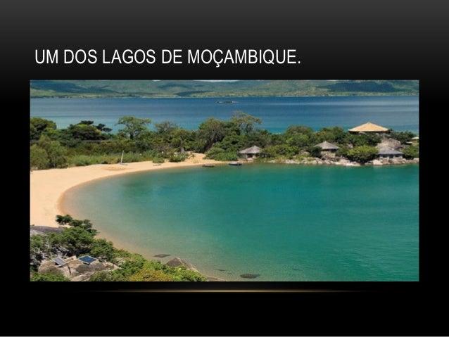 UM DOS LAGOS DE MOÇAMBIQUE.