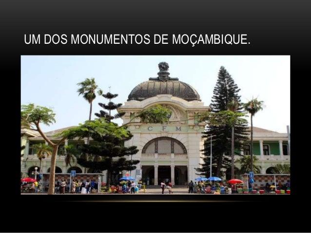UM DOS MONUMENTOS DE MOÇAMBIQUE.