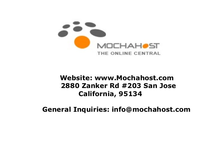 MochaHost - A Market Leader in Web Hosting Industry
