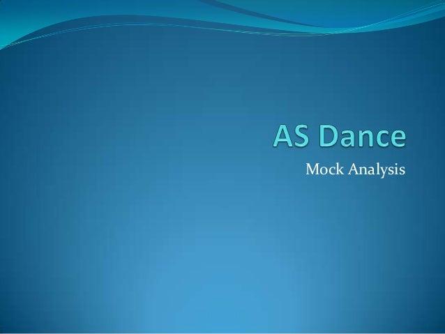 Mock Analysis
