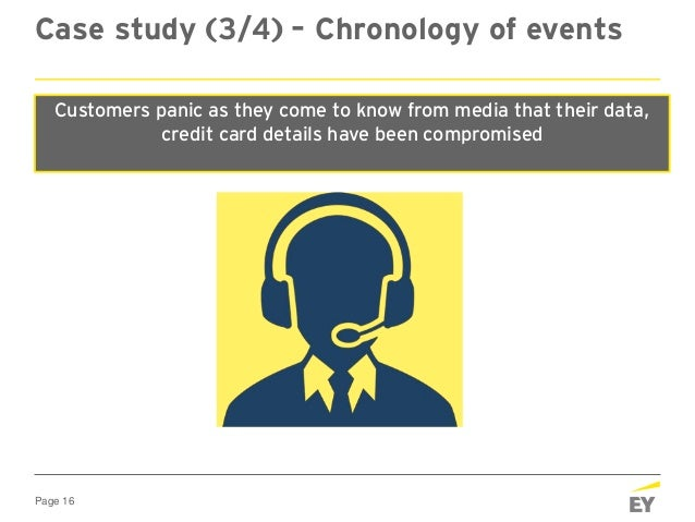 Page 16 Case study (3/4) – Chronology of events At 2020 hours, Friday Customer call centre and email queries hit the roof!...
