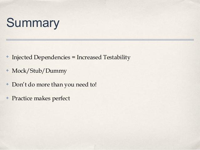 Mocking Dependencies in PHPUnit