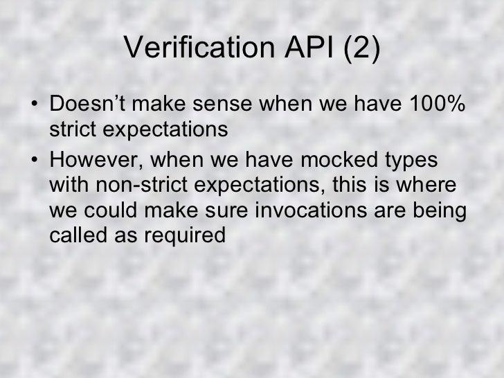 JMockit Framework Overview