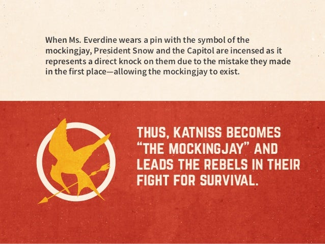 Mockingjays in the workplace Slide 3