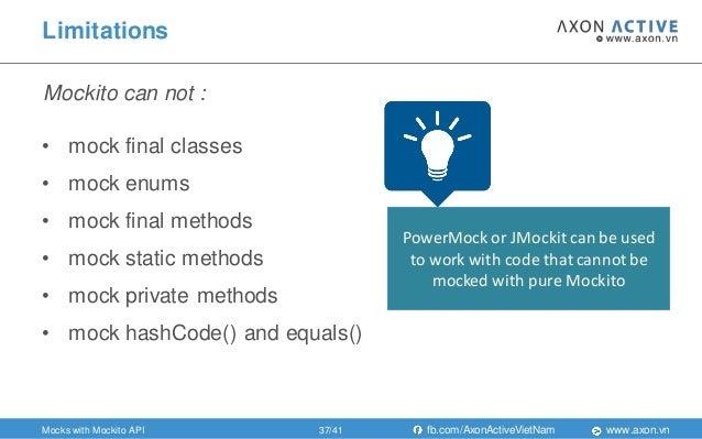 Mockito a simple, intuitive mocking framework