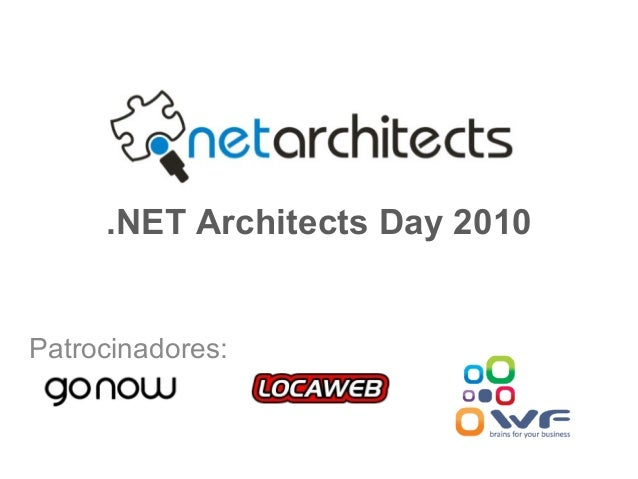 Patrocinadores: .NET Architects Day 2010