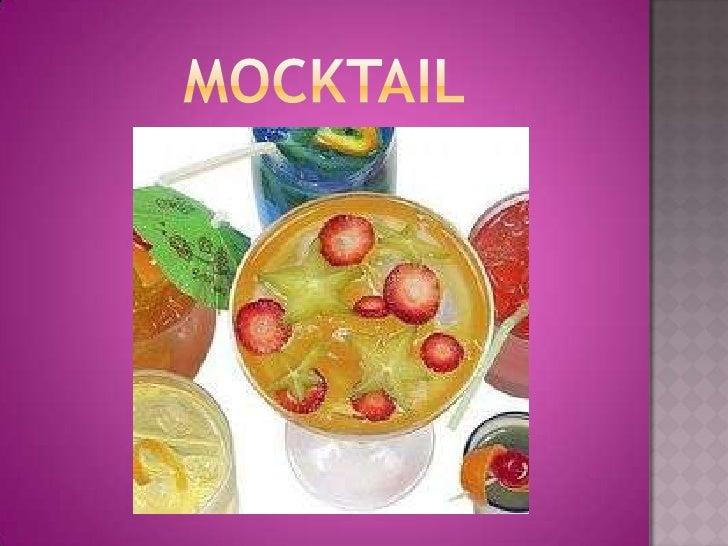 MOCKTAIL<br />