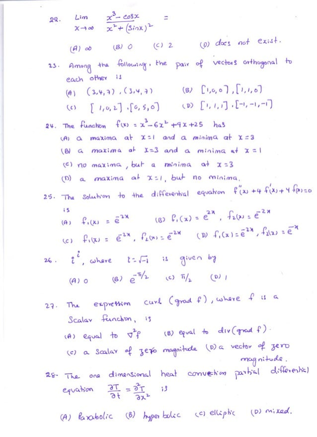 Mock test on maths