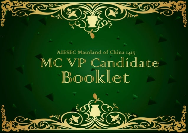 CONTENT A letter from MCP  Work and Salary  Election Process  MC 1314 Strategy Focus  Invitation for MC Project  MC 1415 S...