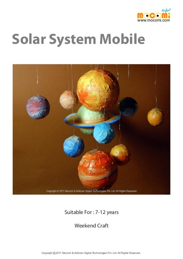 solar system lesson model of - photo #47