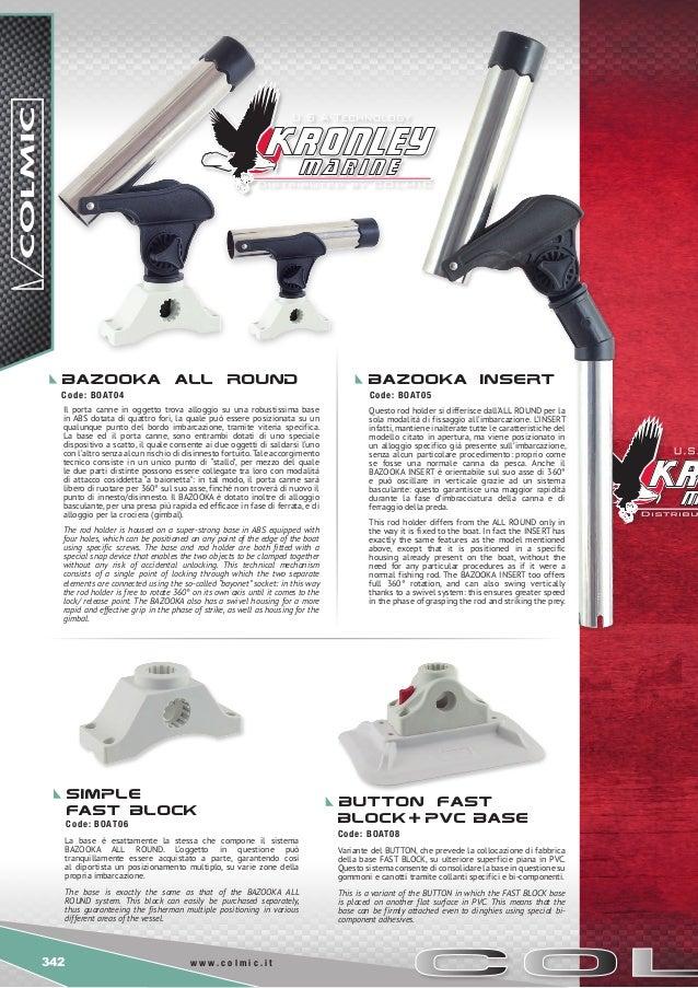 Leo pesca catalogo colmic accessori for Bazooka portacanne