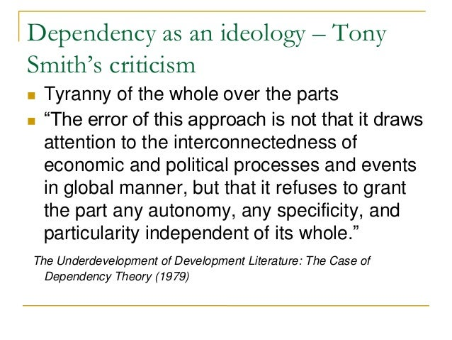 dependency theory essay Latin american dependency theory is a strand of political-economic thought that developed out of the  this essay traces the intellectual lineage of dependency.