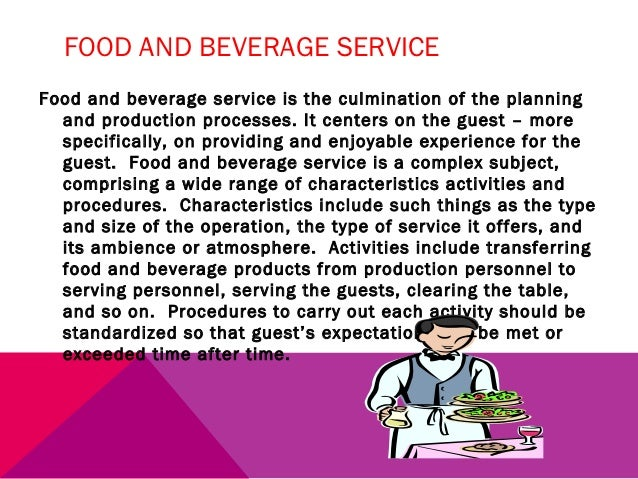 Food & Beverage Services