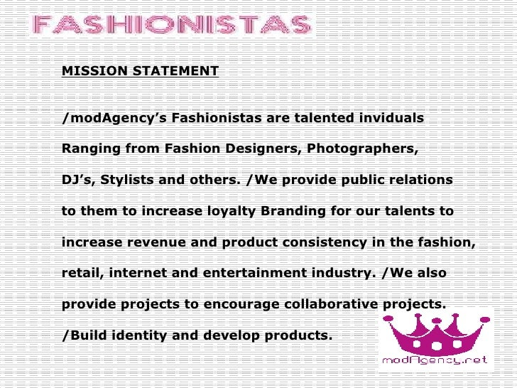 Clothing and Apparel Retailer Mission Statements Mission 83