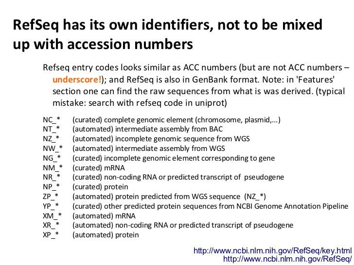How do databases use number identifiers?