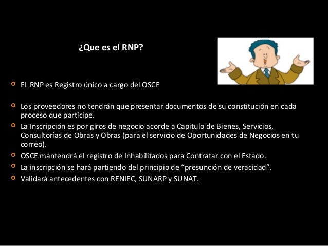 ¿Cuál es la pagina del RNP www.rnp.gob.pe 2.- Luego ingresar a Tramites en línea 1 .- Descargar Guía 3.- Validar su regist...