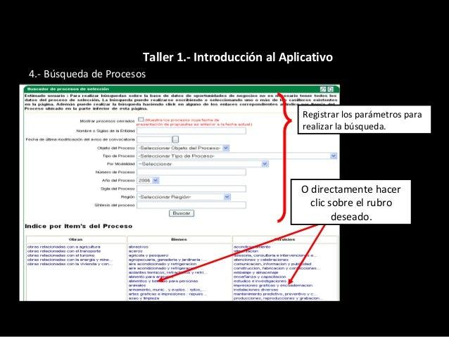  Se muestra una relación de los procesos de selección que cumplen con los parámetros solicitados. Para ver mas informació...