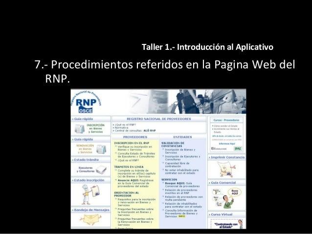 """TALLER 2.- Procesos Electrónico 8.- Uso de la herramienta """"Oportunidades de negocio para proveedores""""."""