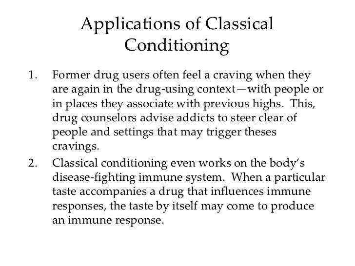 classical conditioning case studies