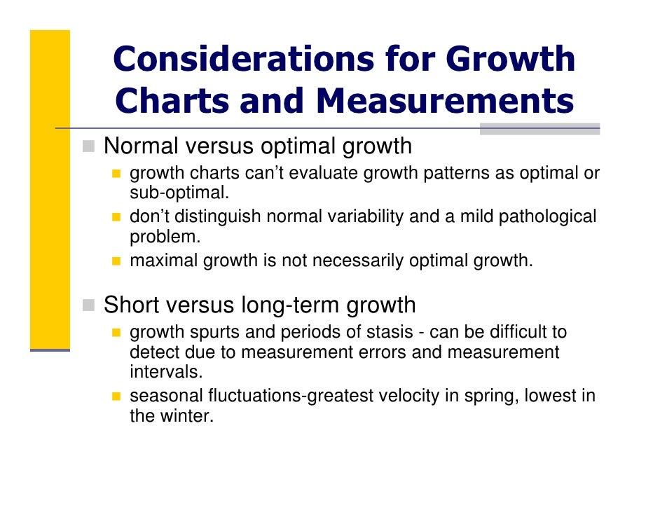 Module 1: Pediatric Growth Assessment Part 1: The Principles