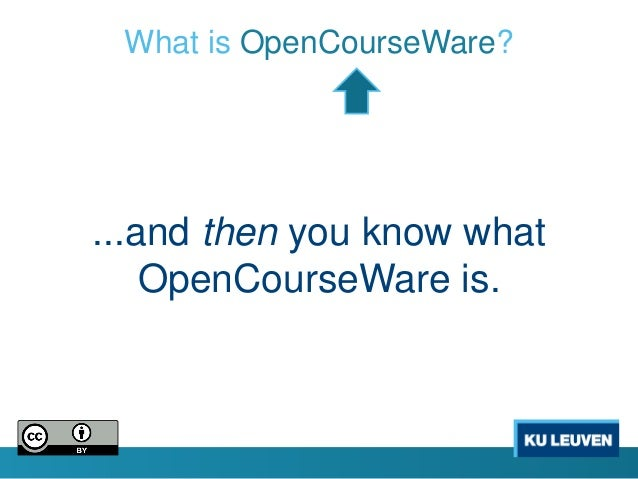 how to use mit opencourseware