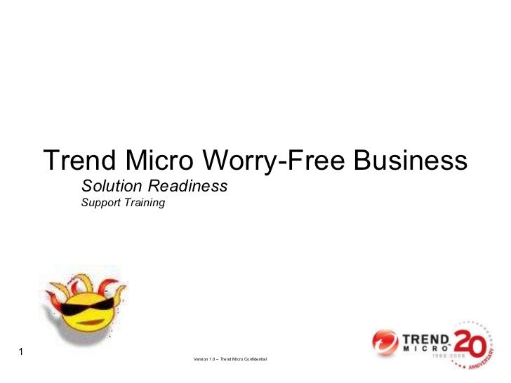 Solution Readiness Support Training Trend Micro Worry-Free Business