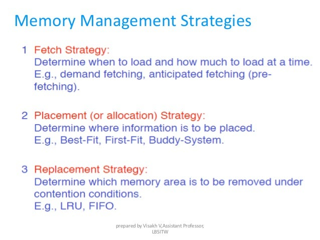Memory Strategies for Students: The Value of Strategies