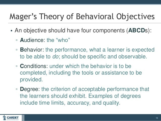 Module 3 Writing Effective Learning Objectives
