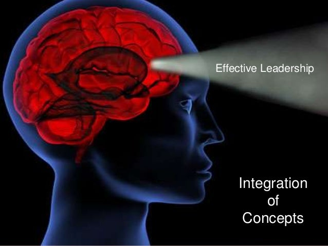 Effective Leadership Integration of Concepts