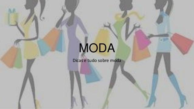 MODADicas e tudo sobre moda