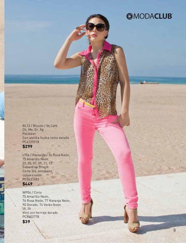 ModaClub 2013 Catalogo ropa de mujer, primavera verano (zuria vega) r…