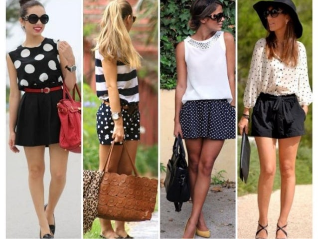 Moda das estampas de bolinhas nos looks femininos.