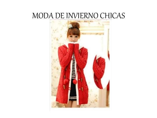MODA DE INVIERNO CHICAS