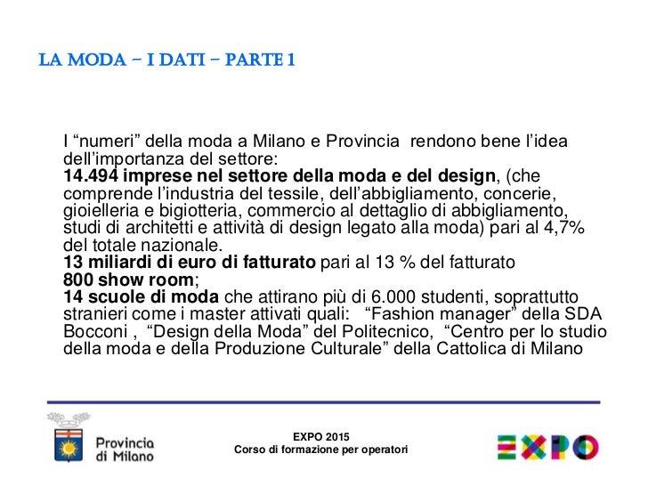 Moda design expo la provincia di milano for Politecnico milano design della moda