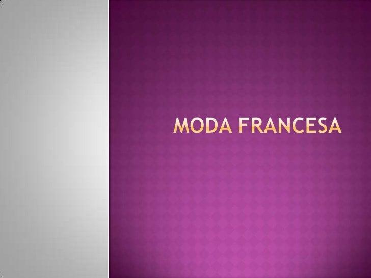 Moda francesa   débora scramento 7º b