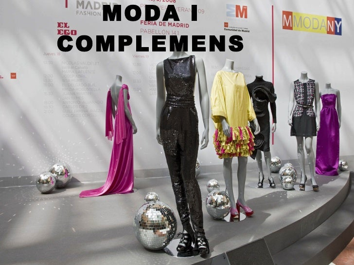 MODA I COMPLEMENS