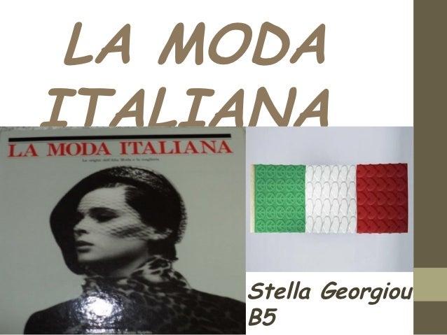 LA MODAITALIANA     Stella Georgiou     B5