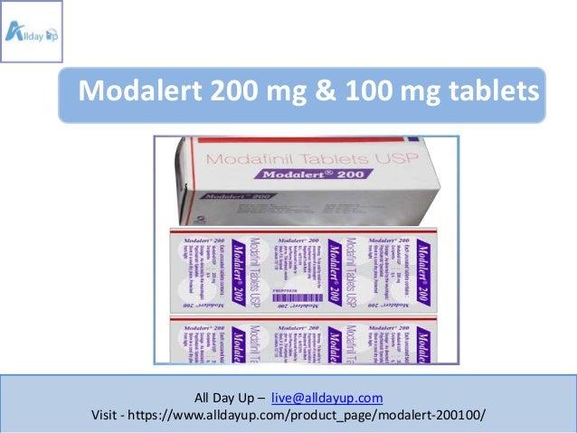 Modalert Medicine Dosage