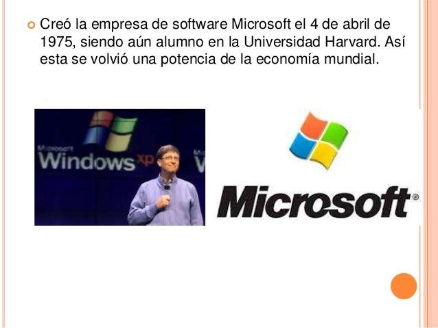  12.  Origen y Crecimiento a la fecha de    Microsoft   Es una empresa multinacional de origen estadounidense,    fundad...