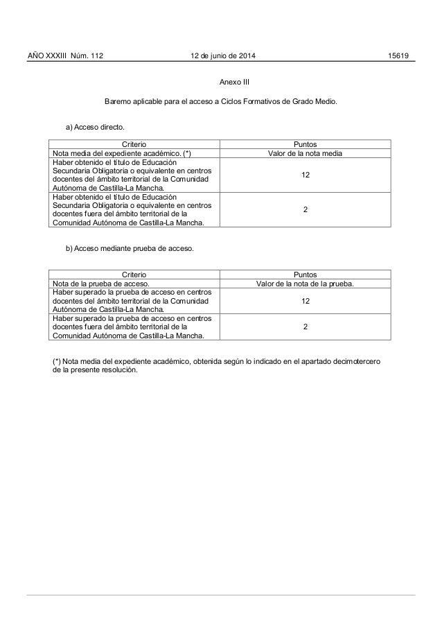Modalidades de bachillerato y prueba acceso mayores 25 prioritarias p…