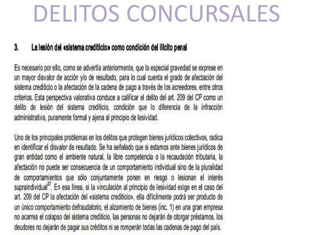 DELITOS CONCURSALES