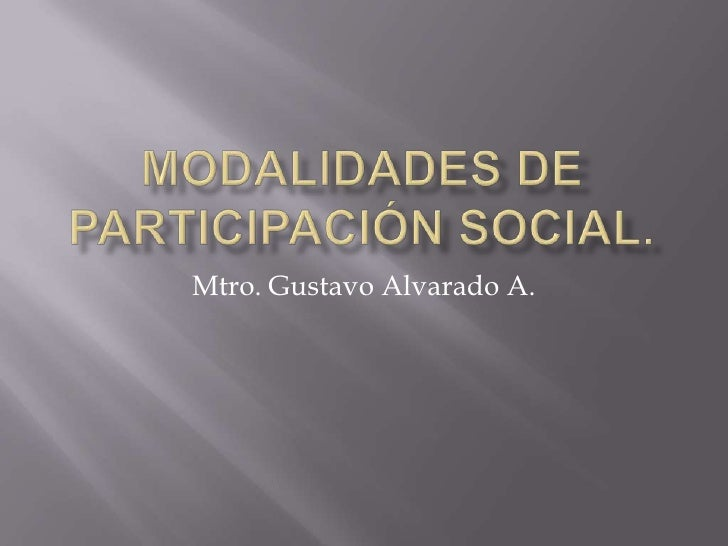 Mtro. Gustavo Alvarado A.