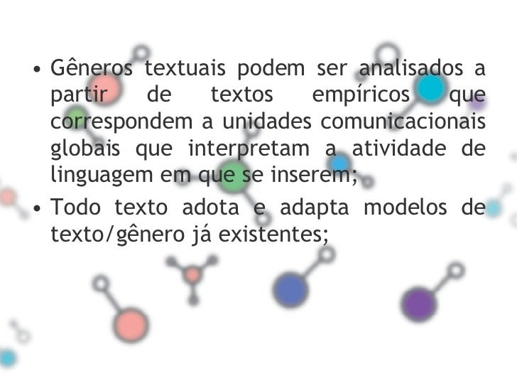 ModalizaçãO Nos GêNeros Slide 2