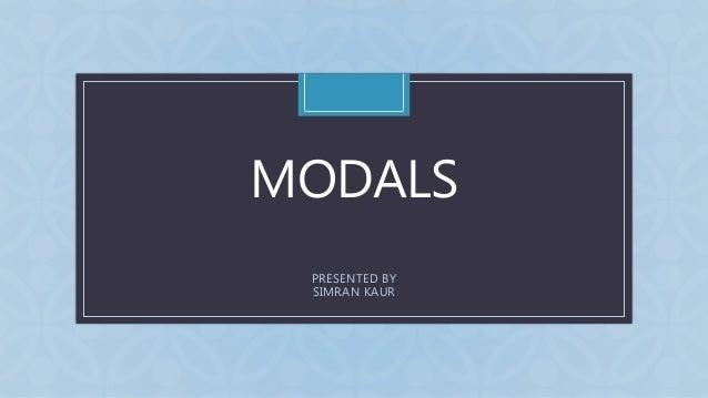 CMODALS PRESENTED BY SIMRAN KAUR